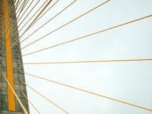 Die Brücke Rama 8 tagsüber Stockbilder