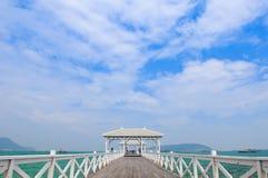 Die Brücke in Sichang Insel Lizenzfreie Stockfotografie