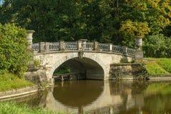 Die Brücke Visconti Stockfotografie