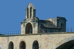 Die Brücke von Avignon lizenzfreies stockfoto