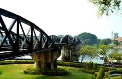 Die Brücke von Fluss Kwai Stockbild