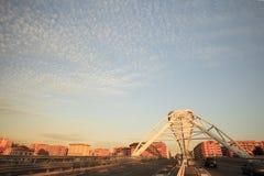 Die Brücke von Garbatella in Rom Lizenzfreies Stockfoto
