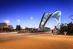Die Brücke von Garbatella in Rom Lizenzfreies Stockbild