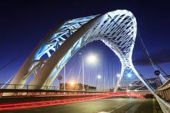Die Brücke von Garbatella in Rom Stockfotografie