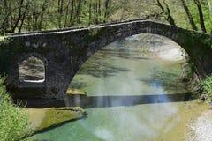 Die Brücke von Kamberaga, 18. Jahrhundert Lizenzfreie Stockbilder