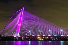 Die Brücke von Putrajaya lizenzfreie stockfotografie