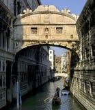 Die Brücke von Seufzern, Venedig lizenzfreies stockbild