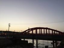 Die Brücke von Taibai-Berg Stockfotografie