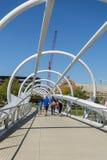Die Brücke am Yard-Park lizenzfreie stockfotografie