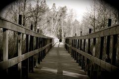 Die Brücke zu Ihnen Stockfotos