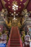 Die Brücke zum Himmel im thailändischen Tempel Lizenzfreies Stockfoto