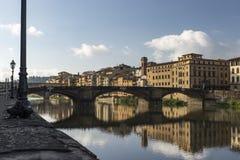 Die Brücken von Florence Italy Lizenzfreies Stockfoto