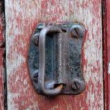 Die braune Tür Lizenzfreies Stockbild