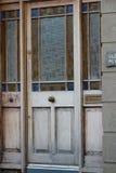 Die braune Tür Stockfotografie