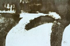 Die braunen Wände ist Hintergrund Stockfotos