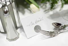 Die Braut lizenzfreie stockfotos