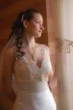 Die Braut schwebend Lizenzfreie Stockbilder