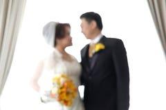 Die Braut u. der Bräutigam Lizenzfreie Stockfotos