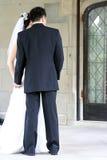 Die Braut und der Bräutigam Lizenzfreies Stockfoto