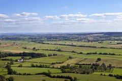 Die britische Landschaft Lizenzfreies Stockfoto