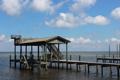 Die Bucht in Destin Forida Lizenzfreie Stockbilder
