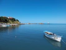Die Bucht von Ahtopol Lizenzfreie Stockfotos