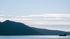 Die Bucht von Nagaev Lizenzfreie Stockbilder