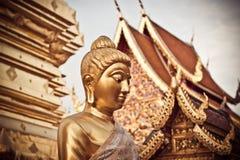 Die Buddha-Statue stockbilder