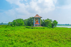 Die Buddha-Statue Lizenzfreie Stockbilder