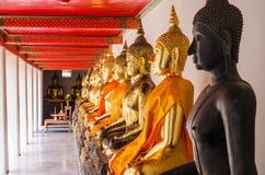 Die Buddha-Statuen Stockfotografie