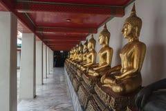 Die Buddha-Statuen Stockbilder