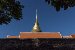 Die Buddhismuspagode Stockfotografie