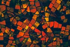 Die bunte Weinlesekeramikfliesen-Wanddekoration Lizenzfreies Stockbild