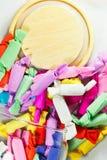 Die bunten Süßigkeiten Stockfoto