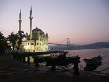 Die Buyuk Mecidiye Moschee Stockfotos