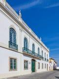 Die Casa springt Tavares, der im Marktplatz gelegen ist Stockfotografie