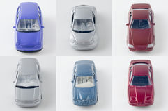Die-cast toy car. Still life photography Royalty Free Stock Image