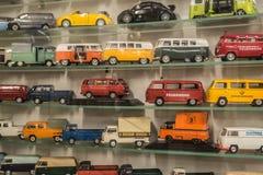 Die cast Volkswagen car models collection Stock Images