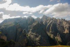Die Catinaccio-Dolomit Stockbilder