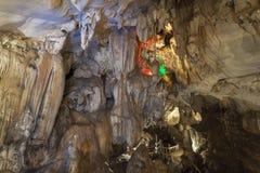 Die Chang-Höhle in Vang Vieng, Laos Stockbilder