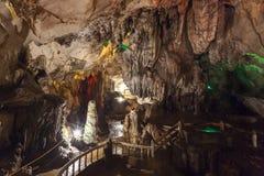 Die Chang-Höhle in Vang Vieng, Laos Stockfoto