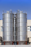 Die chemische Fabrik Russland Lizenzfreies Stockfoto
