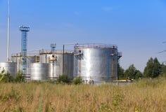 Die chemische Fabrik Russland Stockbild
