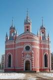 Die Chesme-Kirche Lizenzfreie Stockbilder