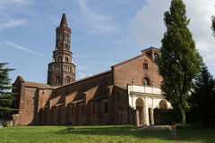 Die Chiaravalle Kirche Stockbilder