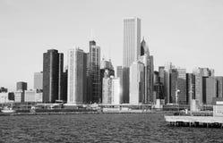 Die Chicago-Skyline Lizenzfreie Stockfotografie