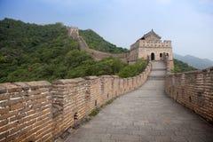 Die Chinesische Mauer. Stockbild