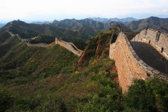 Die Chinesische Mauer Stockbild