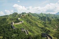 Die Chinesische Mauer, Asien lizenzfreies stockfoto