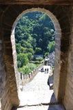 Die Chinesische Mauer bei Mutianyu Lizenzfreie Stockfotografie